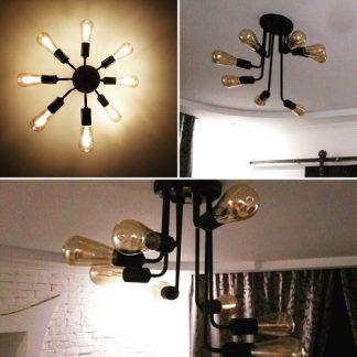 Лампа потолочная
