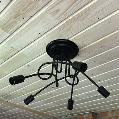 потолочная люстра для низких потолков