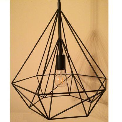 подвесная лампа над кухонным столом