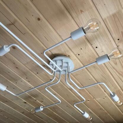 светильник потолочный белый