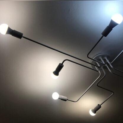 светильник потолочный в интерьере