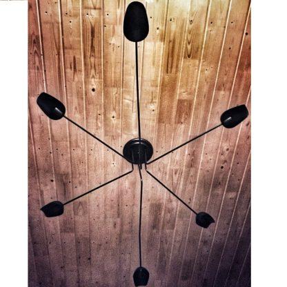 люстра потолочная в зал