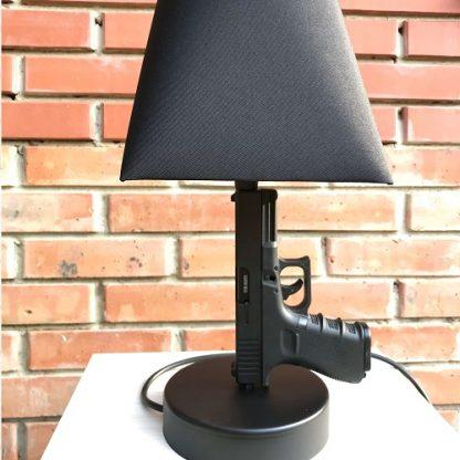 Лампа из пистолета