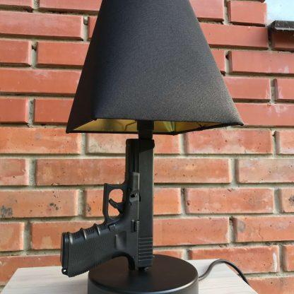 Лампа из оружия