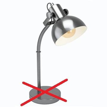 Какая настольная лампа лучше не глянец